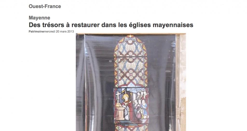 Ouest France Mayenne mars
