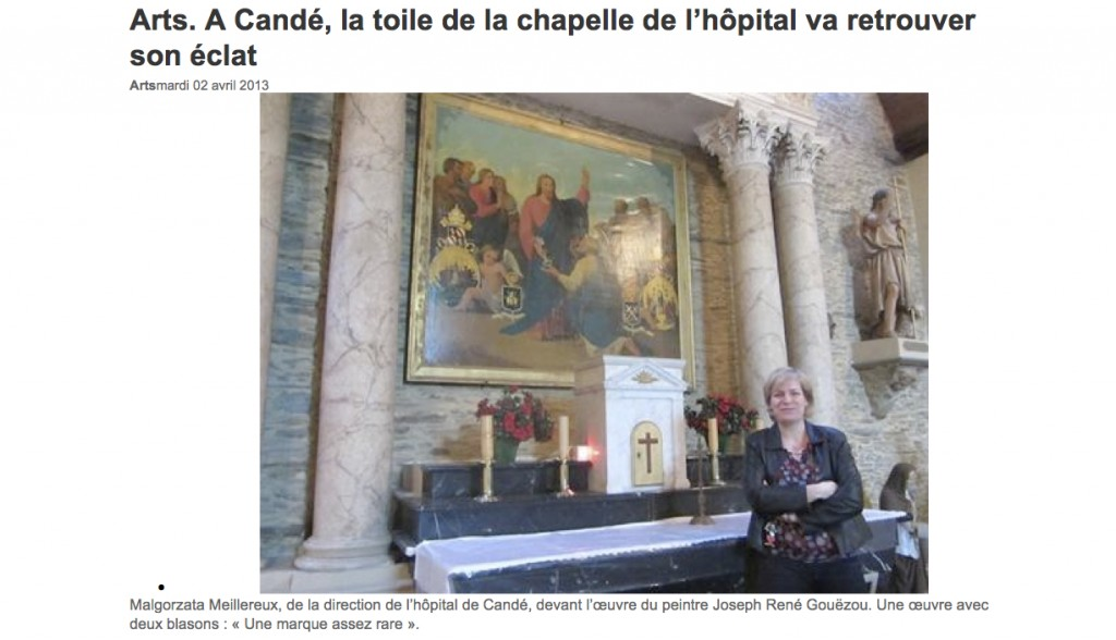 Ouest France Candé