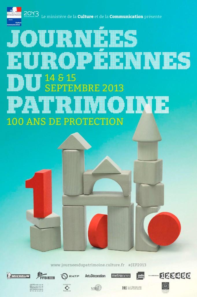Affichage des Journées europeennes du patrimoine